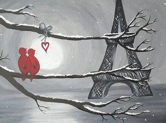 Paris Love Birds