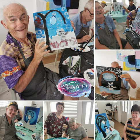 Disability + Respite Painting Classes