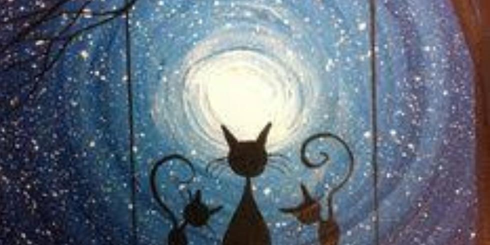 Moonlight Cats