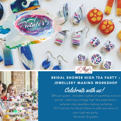 Bridal Shower High Tea package - yes!