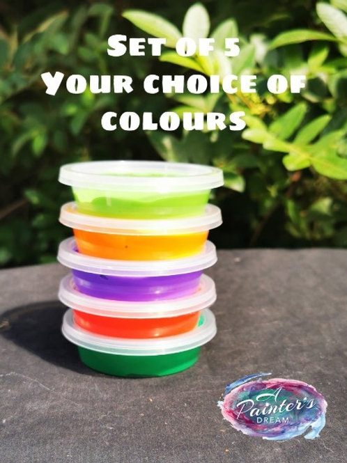 Set of 5 pick your own colours set