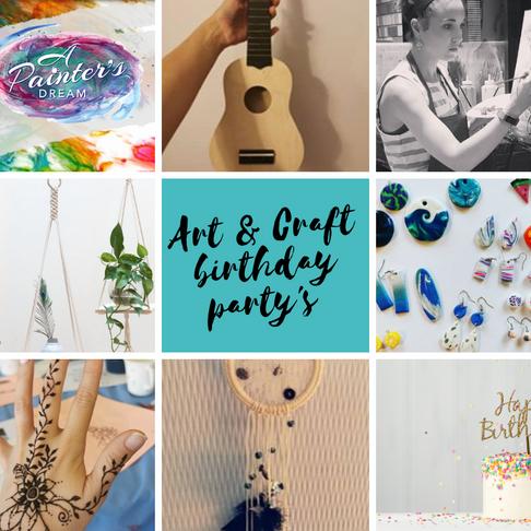 Art n Craft Birthday Party's