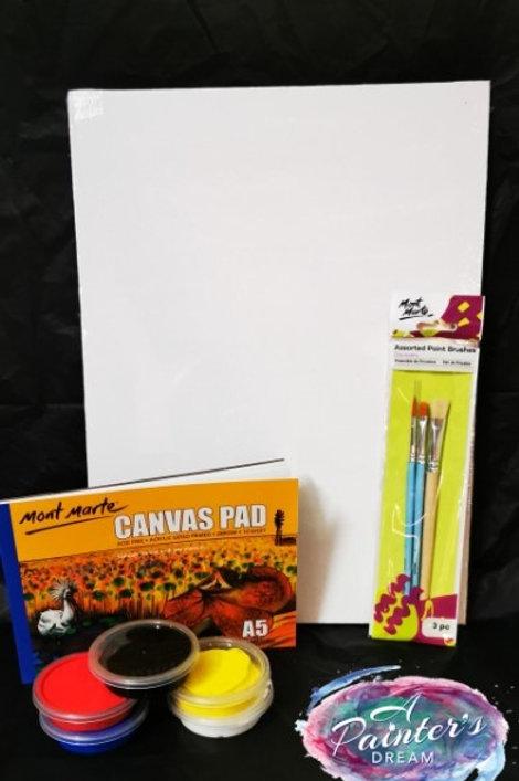 Canvas Pad Painting Kit