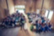 Barn Wedding Ceremony at Chafford Park Estate