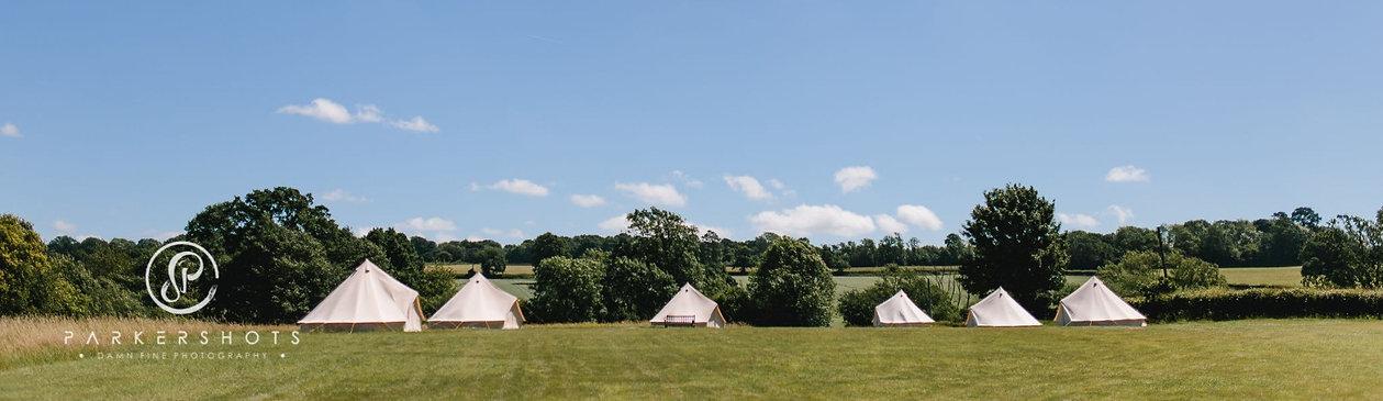 Camping at Chafford Park Estate