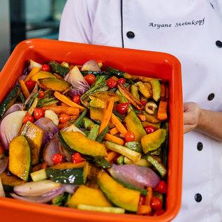 Salada De Legumes Caramelizados