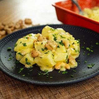 Salada De Batata Cremosa Com Castanha