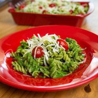 Salada De Parafuso Sem Glúten Ao Pesto