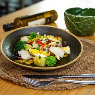 Salada De Bacalhau Colorido