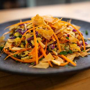 Salada De Salpicão Fit E Molho Base De Inhame