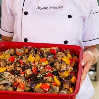 Salada De Caponata Rústica