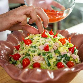 Salada De Alho Poró Cremoso