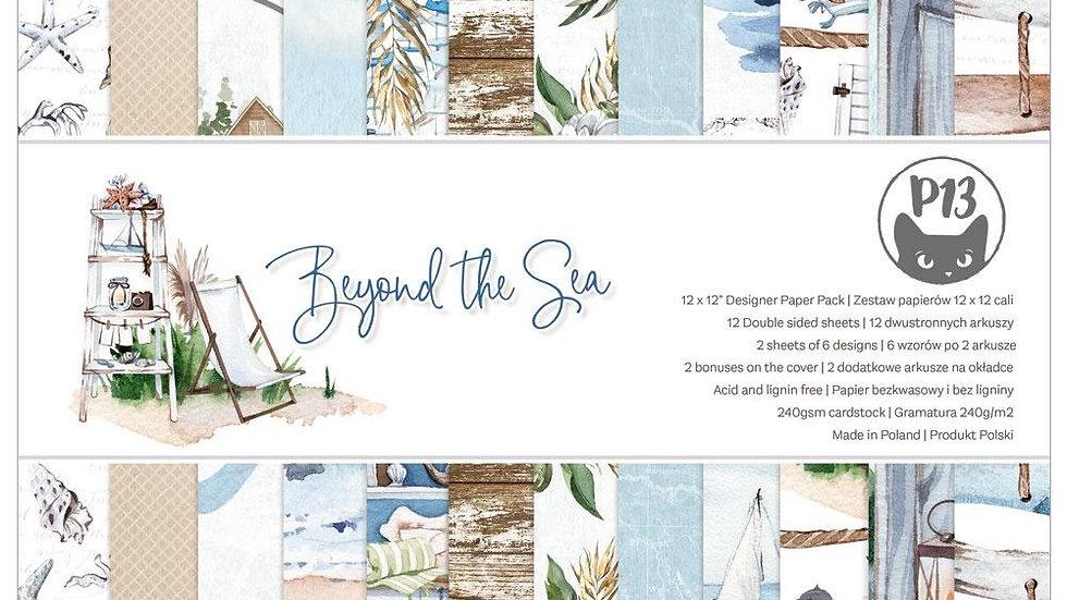 "P13 Beyond the Sea 12"" paper pad"