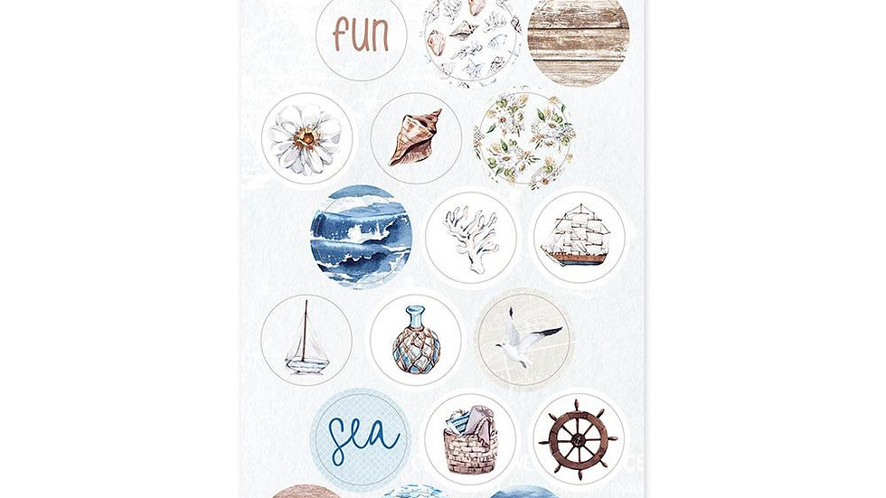 P13 Paper Beyond the Sea stickers