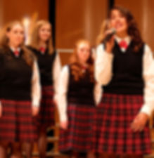 Young Artists Premier Singers love performing!