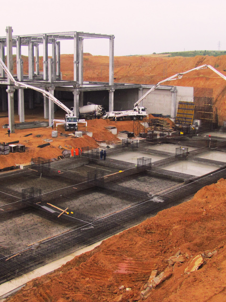 Endüstriyel Yapı Projeleri