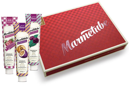 Marmetube Sommerorten Box