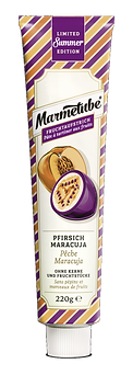 Marmetube Pfirsich Maracuja - 220g