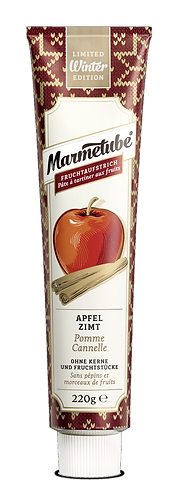 Marmetube Apfel Zimt Tube