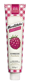 Marmetube Himbeere - 220g