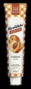 Marmetube Pfirsich - 220g