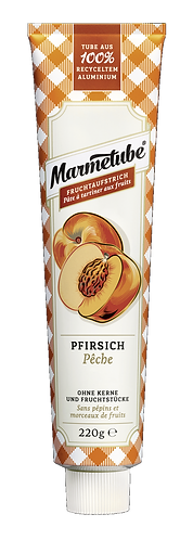 Marmetube Pfirsich Tube