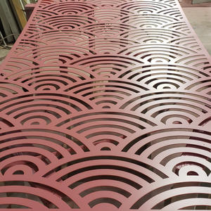CNC Routed, Painted Metal Sheet