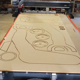 CNC Routed Star Wars Imperial Walker