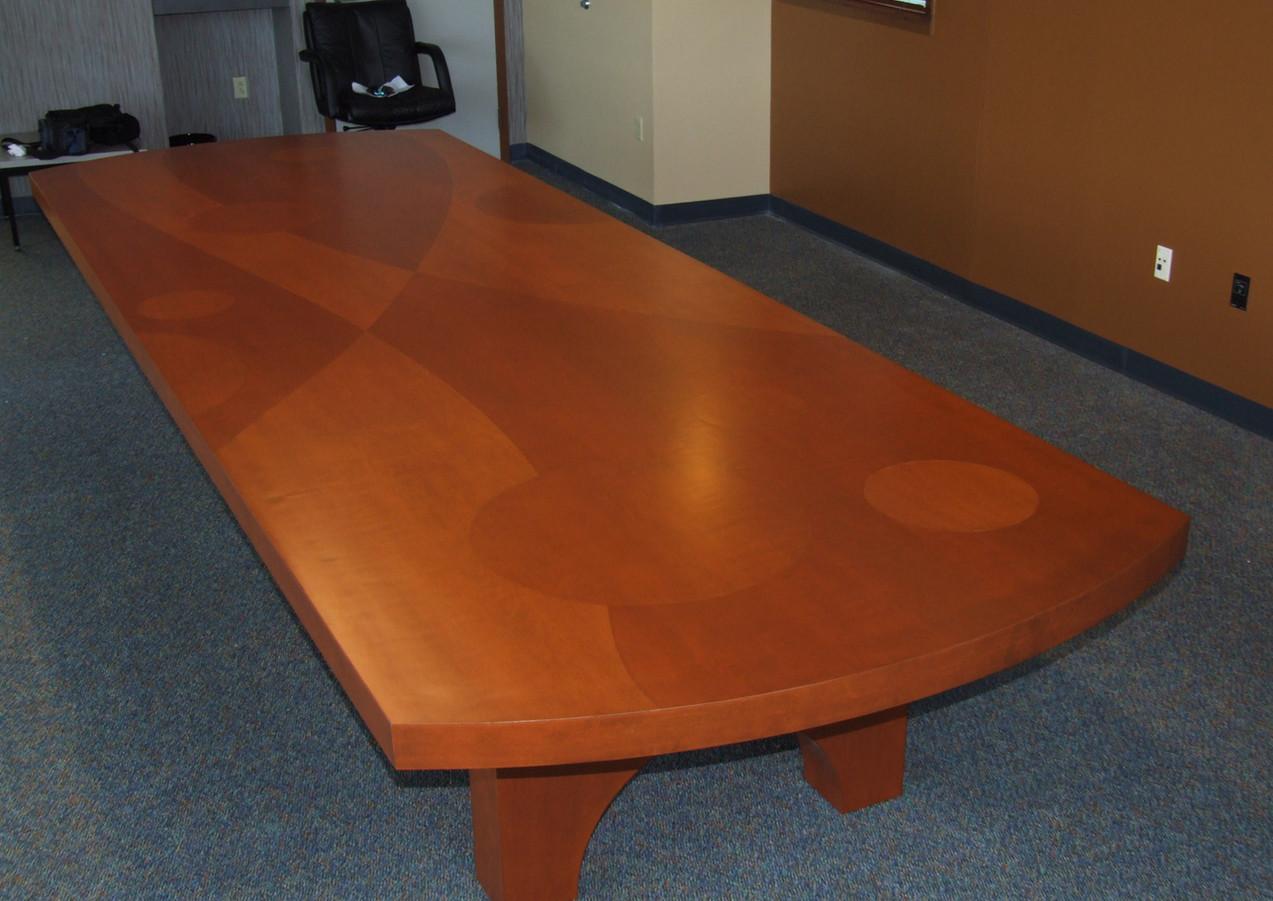 Inlay wood Table