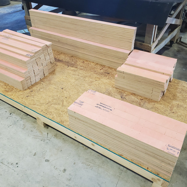 prepared for Shipping CNC Routed Panels for Room
