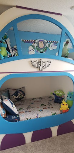 Toy Story Buzz Light Year Themed Bedroom