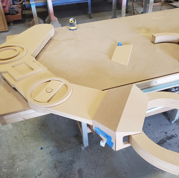 CNC Routed Walker