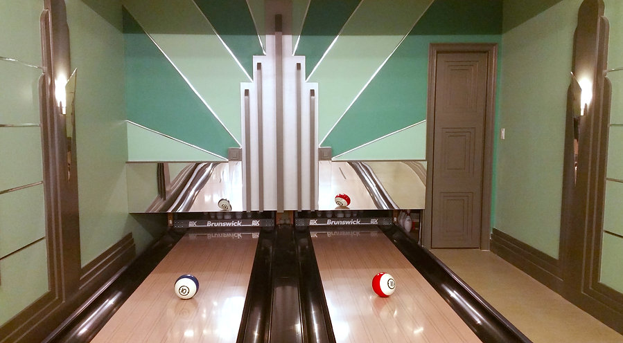 Custom Bowling Alley