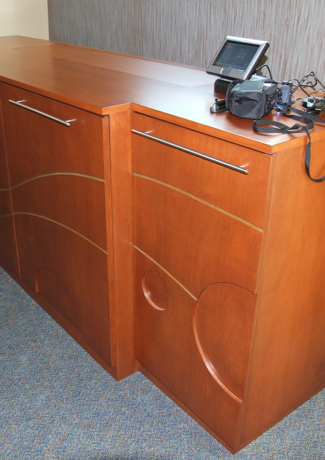 CNC Routed Cabinet