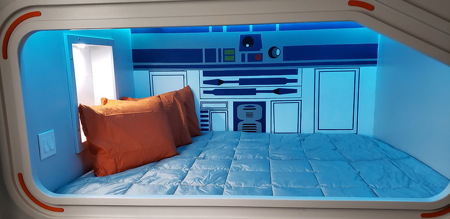 Star Wars Inspired Quad Bunk Bed