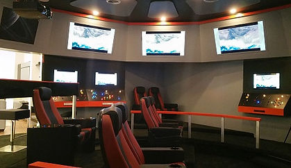 Star Trek Bridge Theater Room