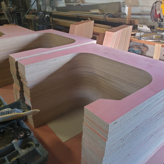 CNC Routed Panels for Client