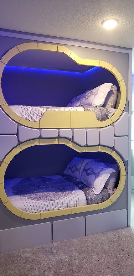 Star Wars Mellinnium Falcon Themed Bedroom