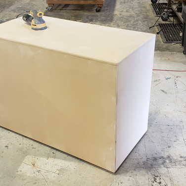 Vanity for FUAX finish wall Stage Set.jp