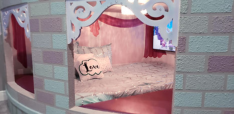Princess Inspired Castle Themed Bedroom