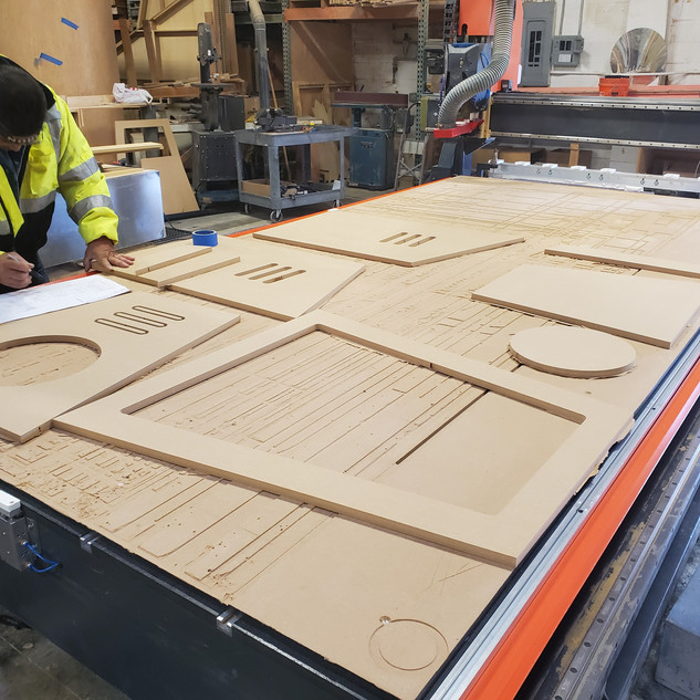 CNC Routed Pieces