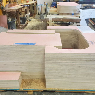 Ready to Ship - CNC Routed Panels for Room
