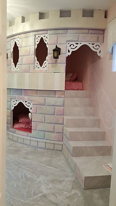 Princess Castle Themed Bedroom