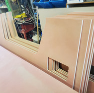 CNC routed panels for client.