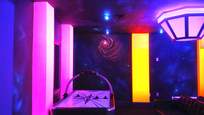 blacklight gameroom