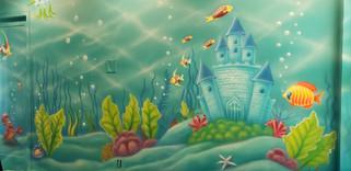 Mermaid Room Mural