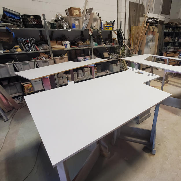 CNC Routed and Primed Panel