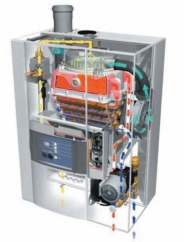 Kondensierende Viessmann Gasfeuerung