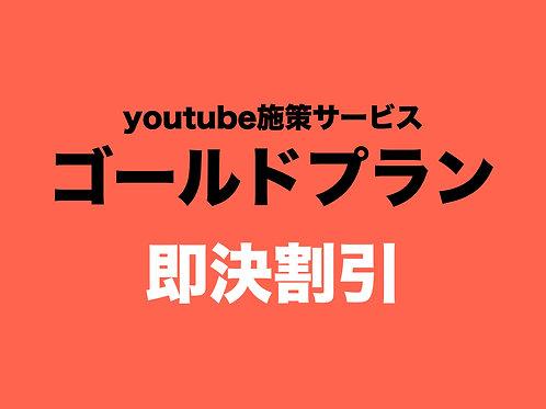 youtubeゴールドプラン(即決割引)