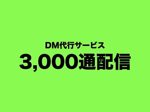 DM配信代行サービス(3,000通)